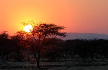 Sonnenuntergang Gruenental